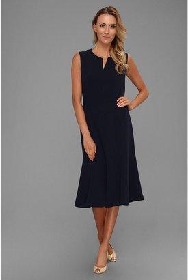 Pendleton Travel Tricotine All-Day Dress (Midnight Navy Travel Tricotine) - Apparel