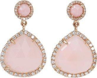 Irene Neuwirth JEWELRY Pink Opal Drop Earrings