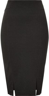 Twenty8Twelve Ebony Wool-Blend Skirt