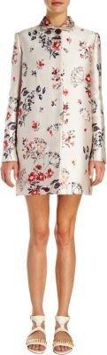 Stella McCartney Floral-Jacquard Coat