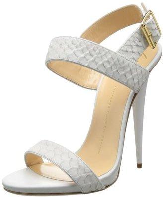 Giuseppe Zanotti Women's Textured Straps Dress Sandal
