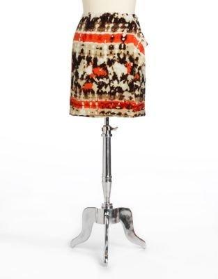 Vince Camuto Printed Skirt