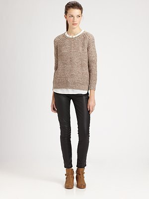 Joie Alessa Silk Sweater