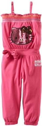 Hello Kitty Girls 2-6X Jumpsuit With Long Pants And Bow On Side