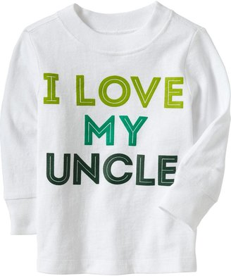 "Old Navy ""I Love My Uncle"" Tees for Baby"