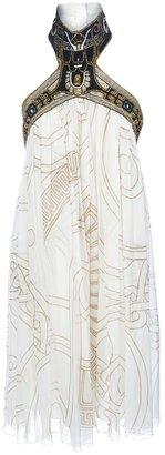 Basso & Brooke Vintage embroidered halterneck dress