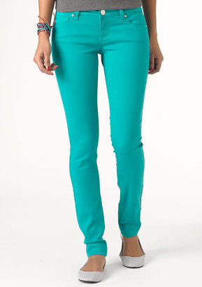 Delia's Olivia Low-Rise Color Jegging