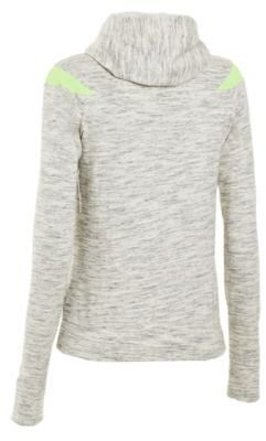 Under Armour Ladies' Charged Cotton; Storm Marble Full-Zip Hoodie
