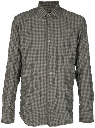 Z Zegna Check shirt
