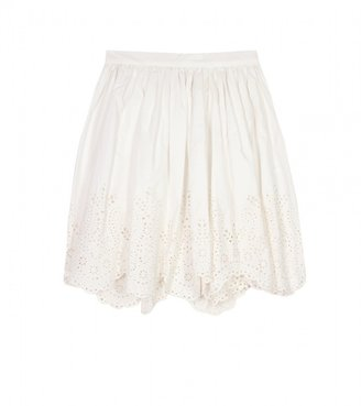 Chloe Sevigny for Opening Ceremony A-LINE SKIRT WITH CUT-OUT DETAIL