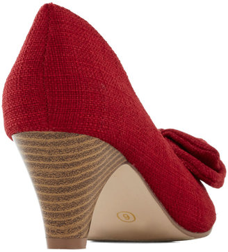 Jam Maker Heel in Cherry