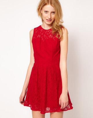 Oasis Lace Sweetheart Dress