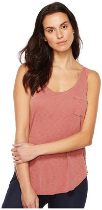 LAmade - Boyfriend Tank w/ Pocket Women's Sleeveless $42 thestylecure.com