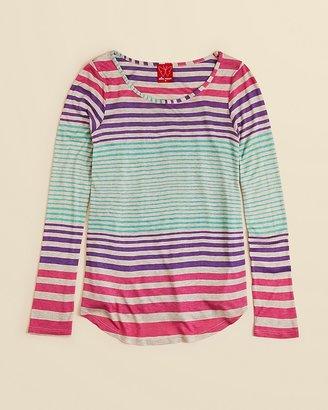 Ella Moss Girls' Carmela Stripe Top - Sizes 7-14