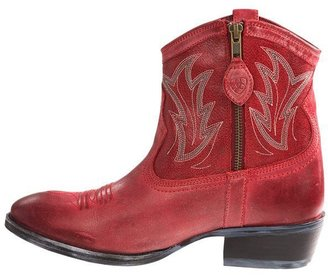 Ariat Billie Cowboy Boots - Round Toe, Side Zip, Leather (For Women)
