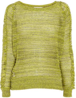 IRO Kara open-knit cotton sweater