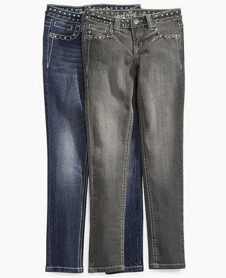 Revolution Kids Jeans, Girls Studded Jeans