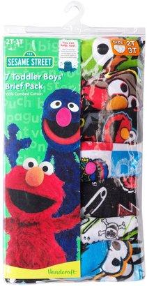 Licensed Character Sesame Street Elmo 7-pk. Briefs - Toddler Boy