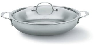 Calphalon 12-in. Stainless Steel Tri-Ply Stainless Steel Everyday Pan