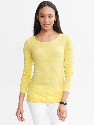Banana Republic Shadow-Stripe Pullover