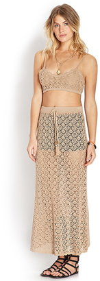 Forever 21 Free to Be Maxi Skirt