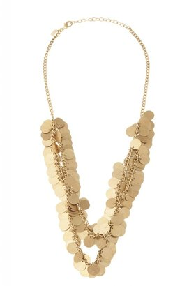 Chan Luu Multi Disk Short Necklace