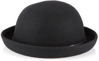 Accessorize Sequin Trim Bowler Hat