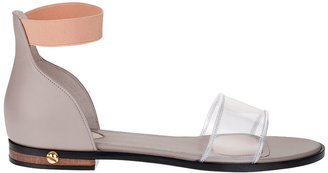 Givenchy Vinyl and calf leather sandal