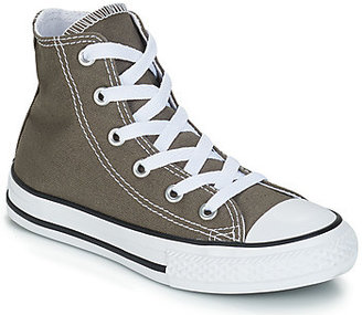Converse HI girls's Shoes (High-top Trainers) in Grey