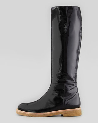 Marni Patent Knee-High Boot