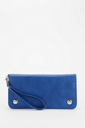 Urban Outfitters Cooperative Printed-Lining Wristlet Pouch