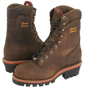 Chippewa 9 Waterproof Insulated Super Logger (Bay Apache) Men's Work Boots