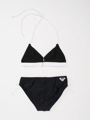 Roxy Girls 7-14 Free Voyage Surfer Tri Bikini Set