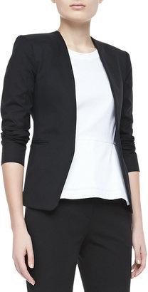 Theory Tadean TS Cotton Open-Front Jacket