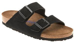 Birkenstock 'Arizona' Soft Footbed Suede Sandal $134.95 thestylecure.com