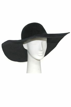 Eugenia Kim Honey Velour Felt Floppy Hat in Black