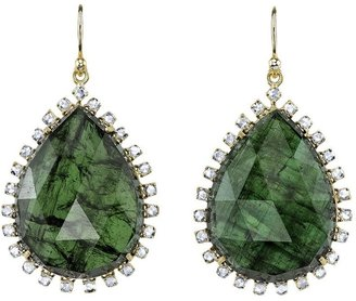 Irene Neuwirth tourmaline pear shaped earring