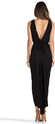 T-Bags LosAngeles Drape Sleeve Maxi Dress