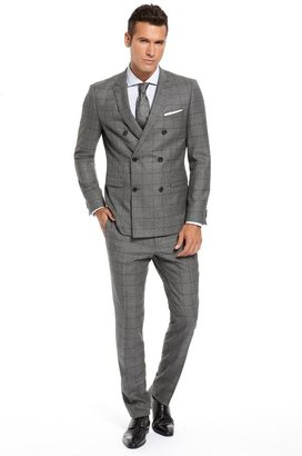 HUGO BOSS 'Rusty/Winn' | Extra Slim Fit, Virgin Wool Double Breasted Suit by BOSS