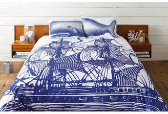 Thomas Paul Ship Duvet Cover
