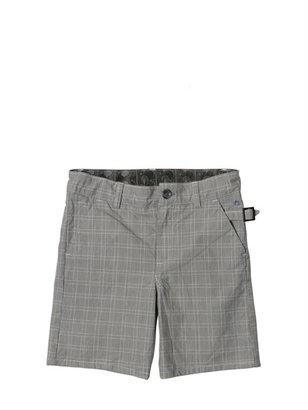 Paul Smith Overdyed Checked Shorts