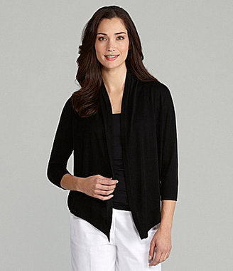 Chaus Open-Front Cardigan