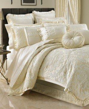 J Queen New York Marquis California King 4-Pc. Comforter Set Bedding