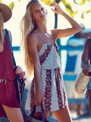 Free People Shadow Play High Neck Dress