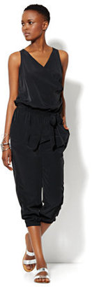 New York & Co. Love, NY&C Collection - Sleeveless Silky Jumpsuit
