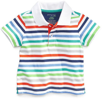 First Impressions Baby Shirt, Baby Boys Multi-Color Striped Polo