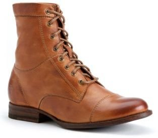 Frye Erin Leather Work Boots