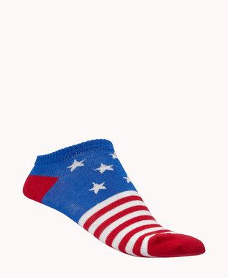 Forever 21 Star-Spangled Ankle Socks