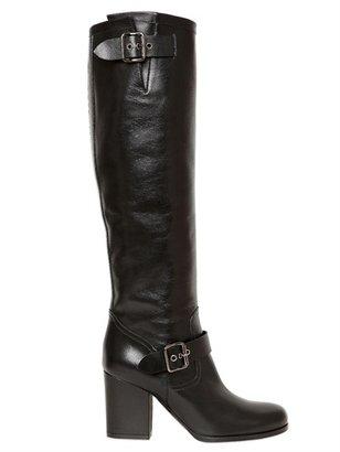 Ballin 80mm Belted Calfskin Boots