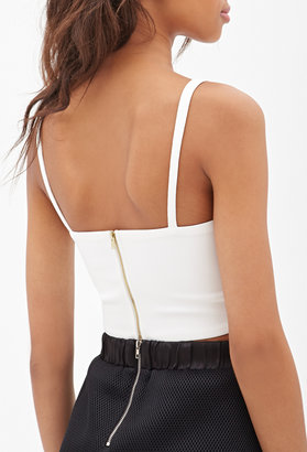 Forever 21 Cutout Cami Crop Top